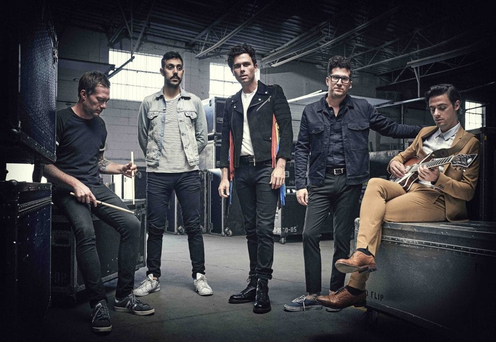 Arkells press shot 2018 by Matt Barnes