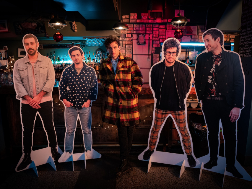 Arkells share new video for pub crawl
