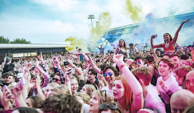 Blossoms crowd Edgerly Park June 22nd 2019