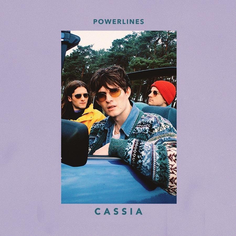 Cassia powerlines EP artwork