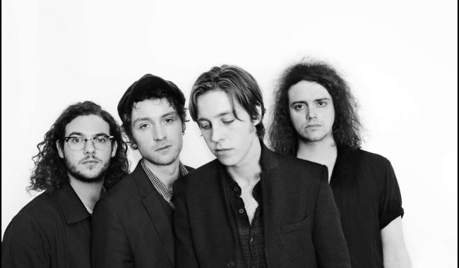Catfish and the bottlemen press shot by Jill Furmanovsky