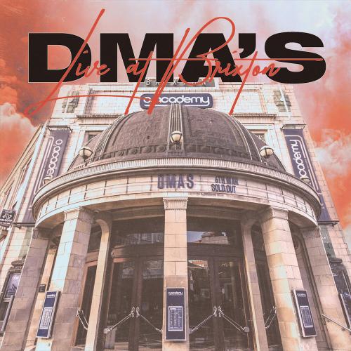Dma's live at brixton album artwork