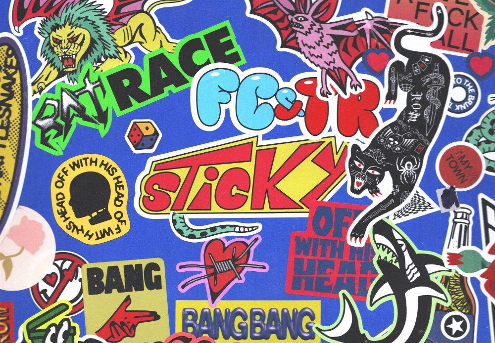 FCATR sticky album artwork