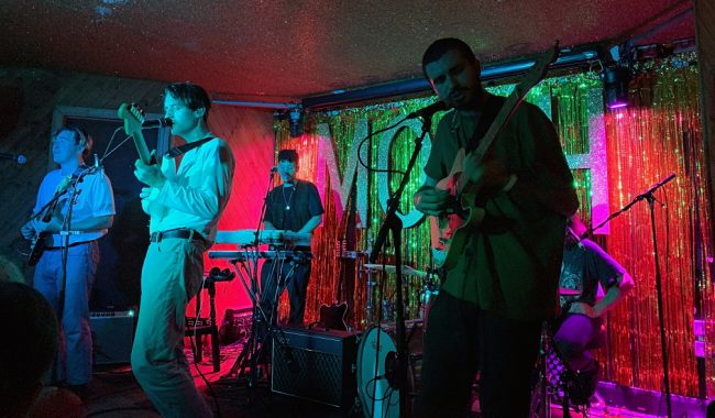 Far Caspian live at Moth Club Hackney October 9 2019