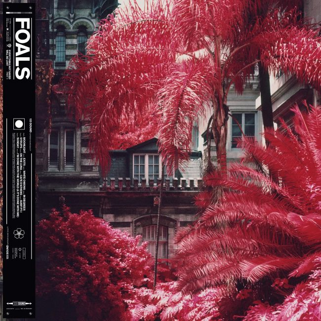 Foals Everything Not Saved Will Be Lost Part 1 album artwork