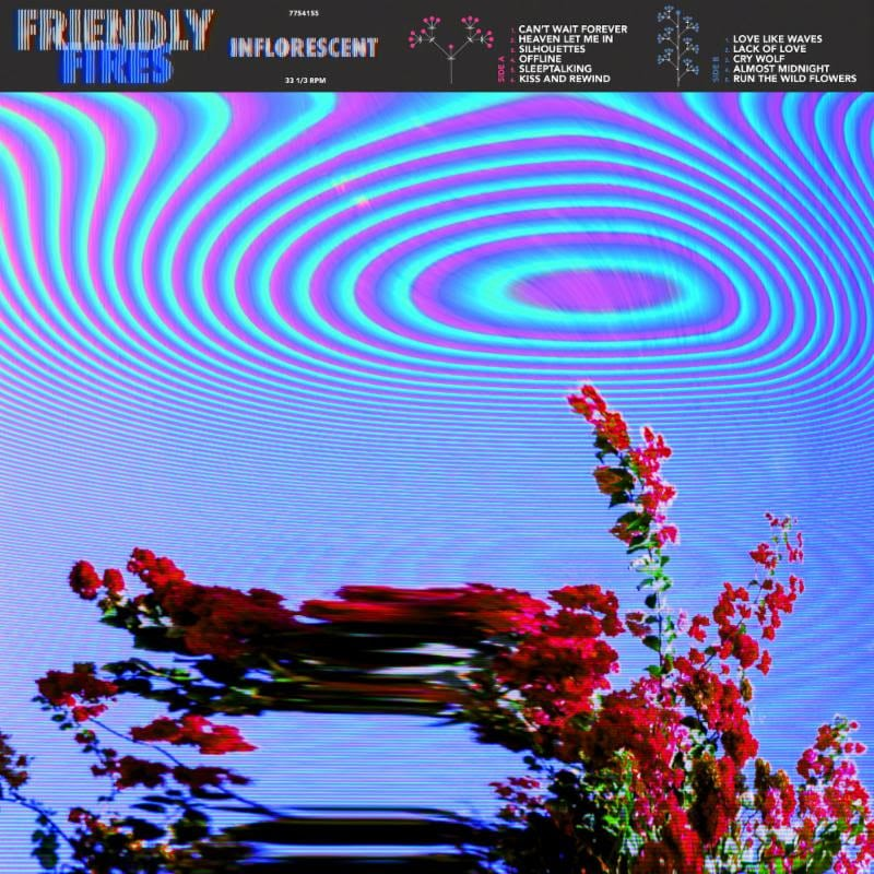 Friendly Fires Inflorescent cover artwork