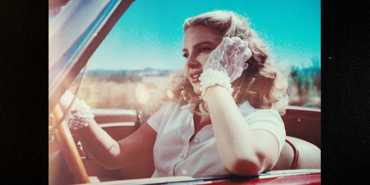 Lana Del Rey press shot by Neil Krug