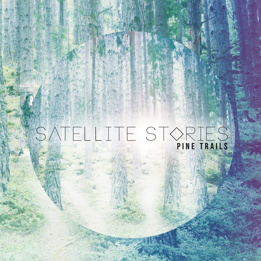 Satellite Stories pine trails artwork