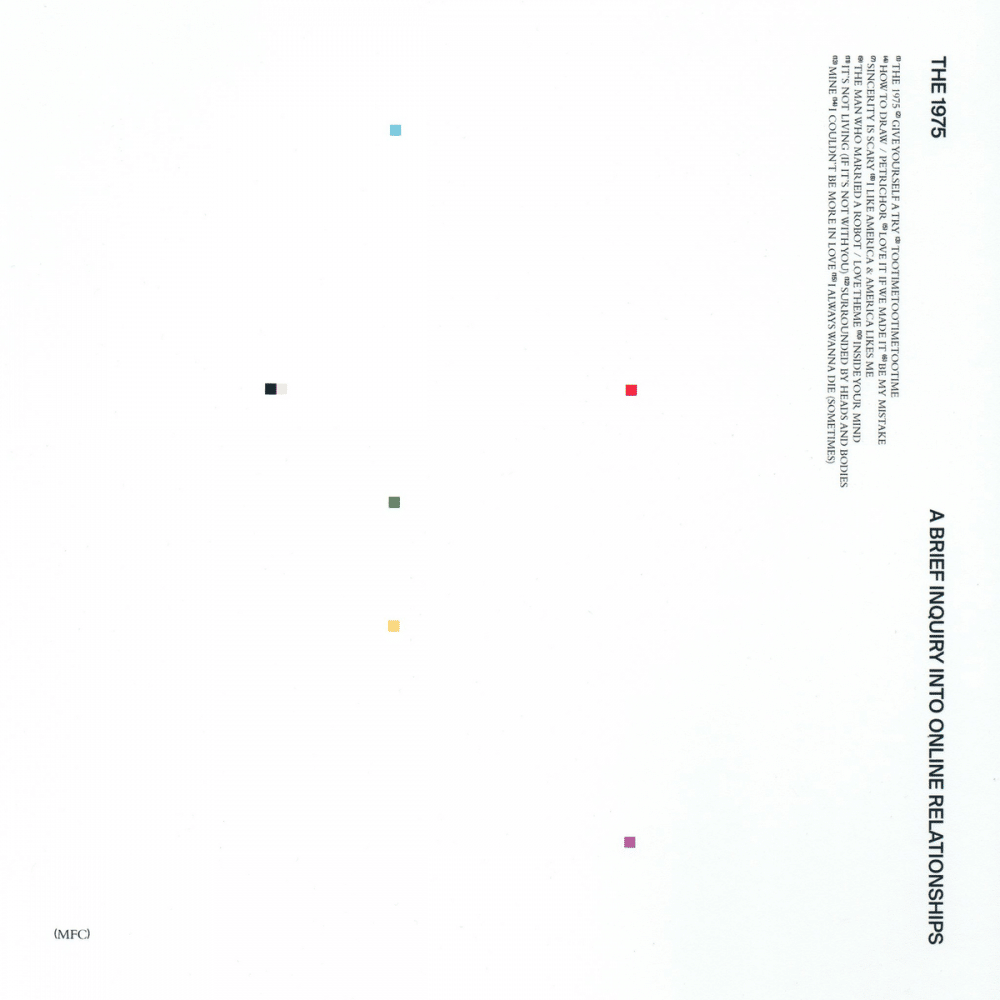 The 1975 A Brief Inquiry Into Online Relationships artwork