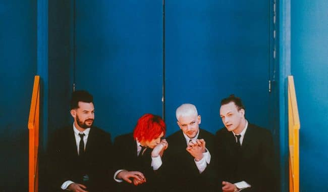 The 1975 Give Yourself A try press shot 2018