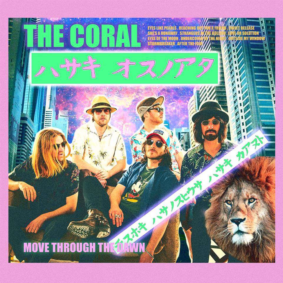 The Coral Move Through The Dawn cover artwork