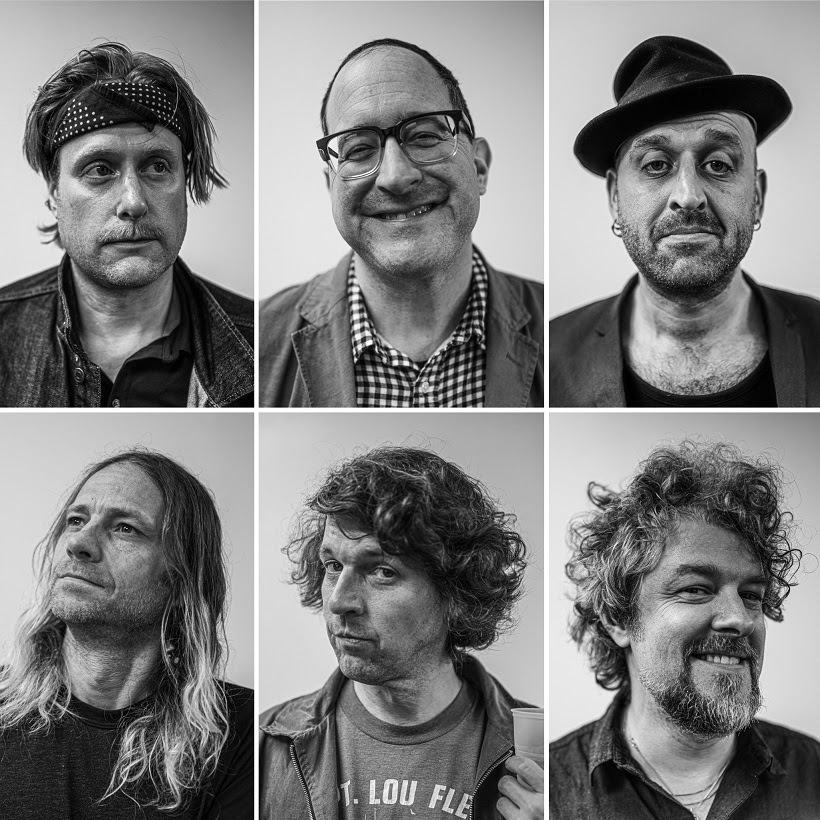 The Hold Steady press shot by Adam Parshall