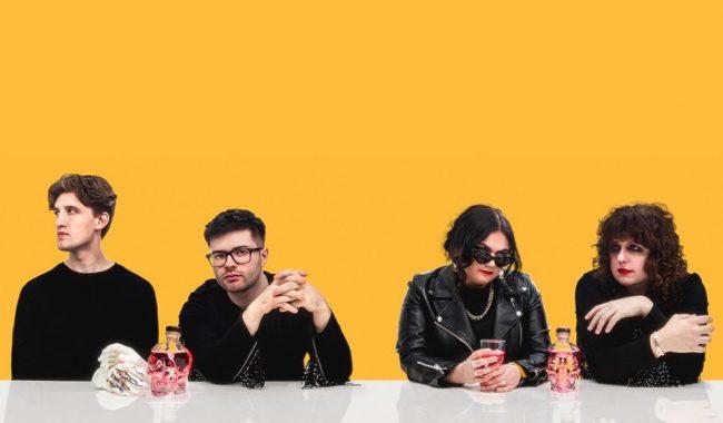 The Vegan Leather band press photo 2019