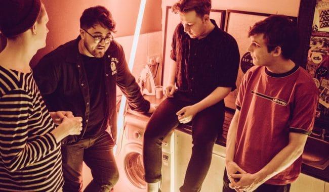 Vistas band press shot for calm single