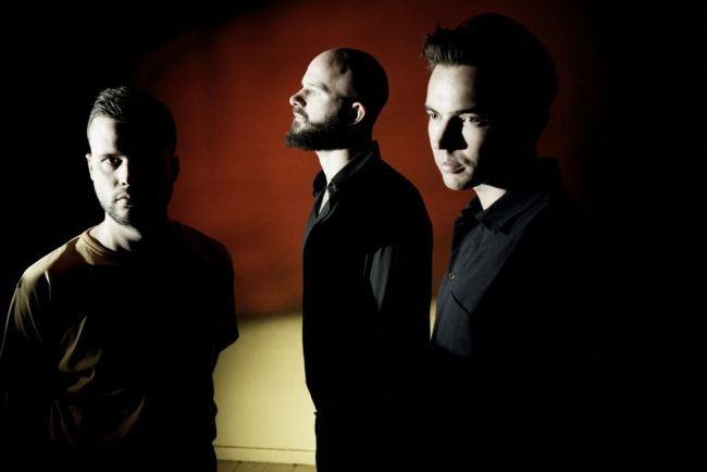 White Lies press shot 2018 by Steve Gullick