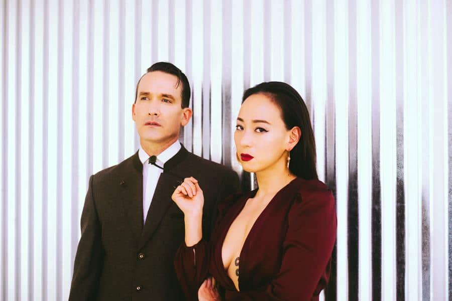 Xiu Xiu press shot by Julia Brokaw