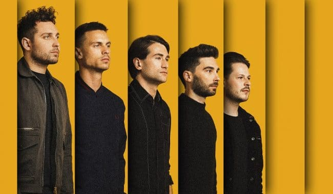 You Me At Six press shot by Jordan Curtis Hughes 2018