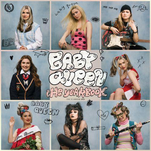 baby queen the yearbook album artwork