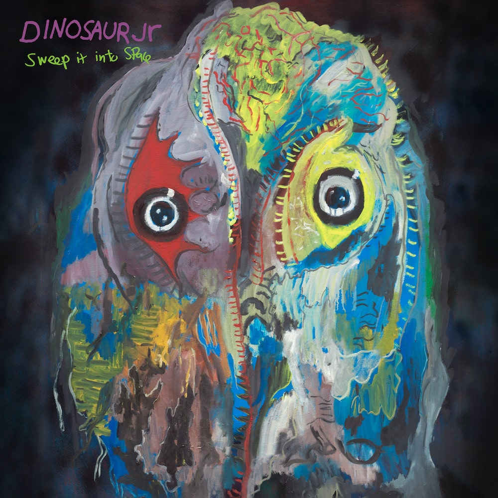 dinosaur jr sweept it into space artwork