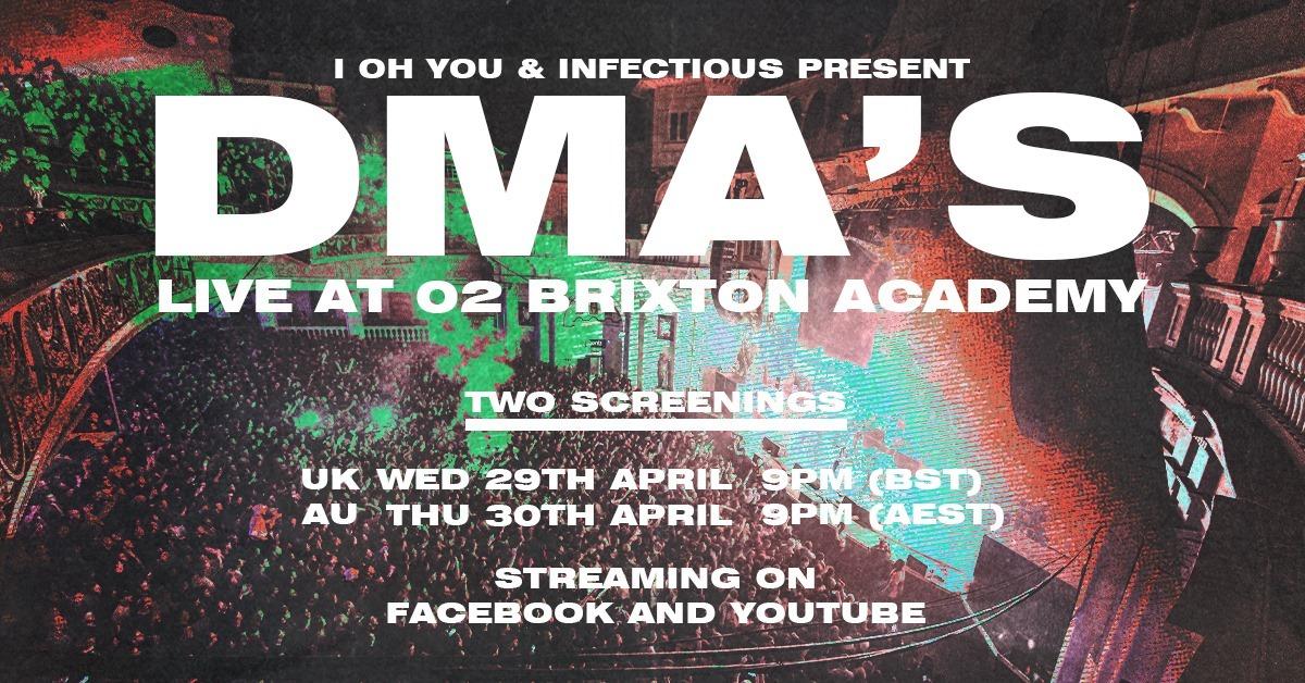 dmas live stream o2 brixton academy