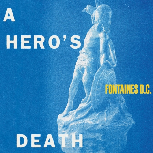 fontaines dc a heros death artwork