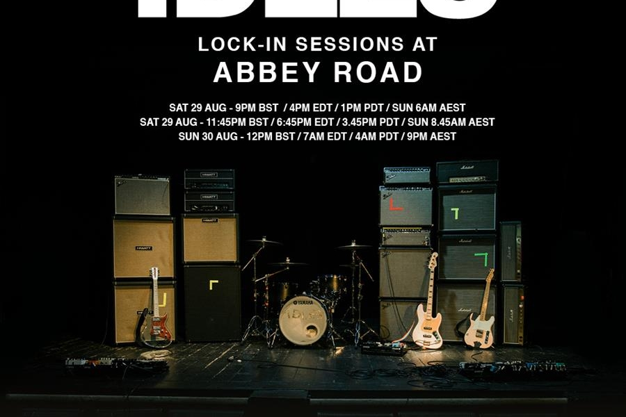 IDLES Lock In Sessions at Abbey Road Studios