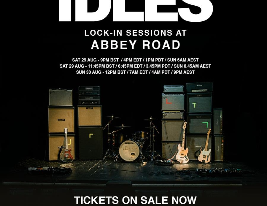 idles lock in sessions at abbey road