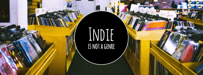indie is not a genre header