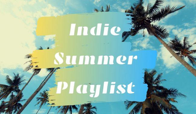 indie summer playlist banner