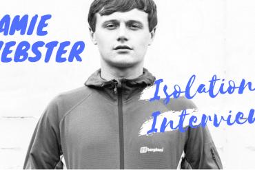 Jamie Webster isolation interview