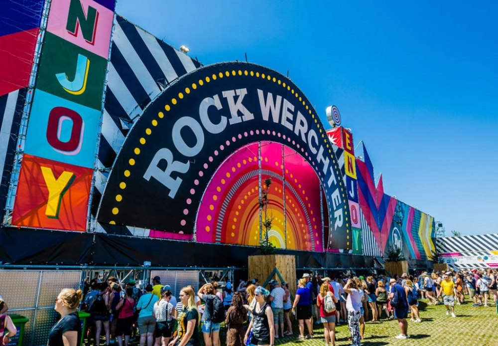 This week's isolation radio is all about Rock Werchter Festival
