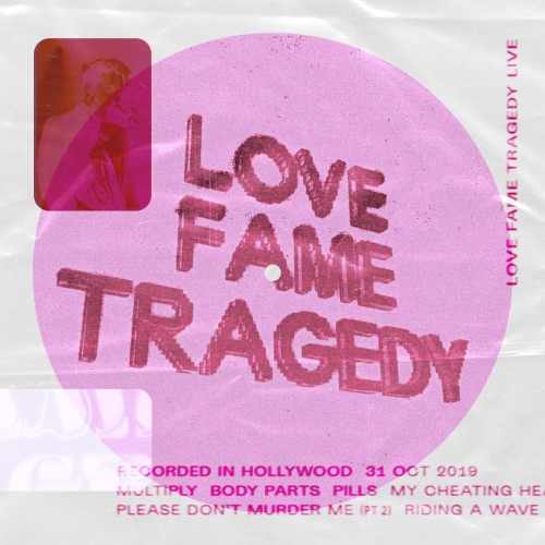love fame tragedy live from sir hollywood artwork