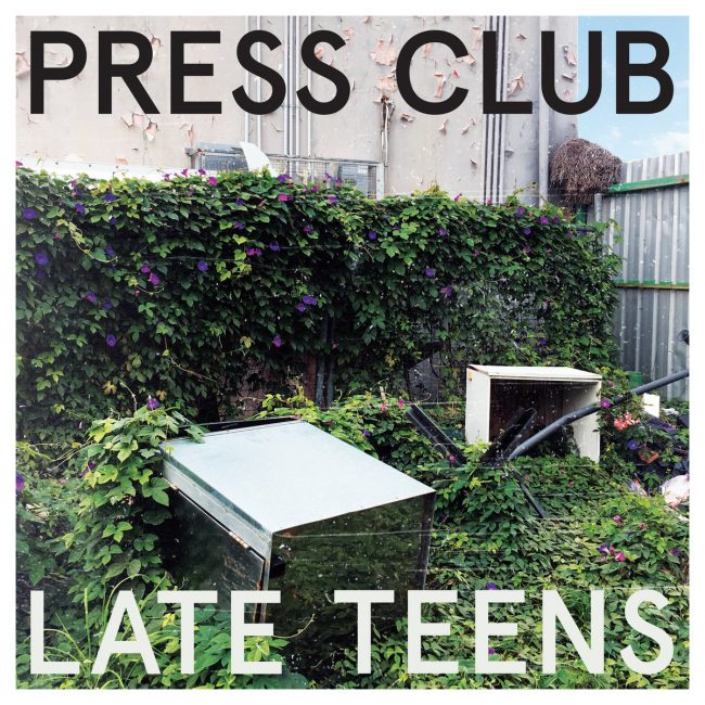 press club late teens album artwork
