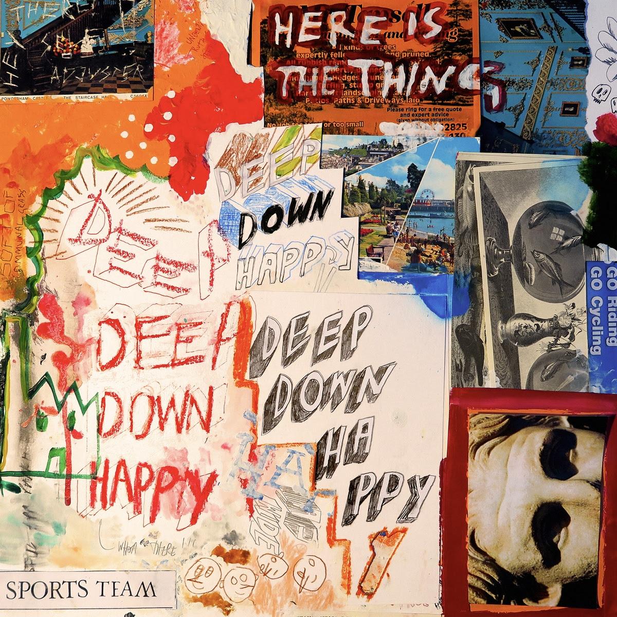 sports team deep down happy album artwork