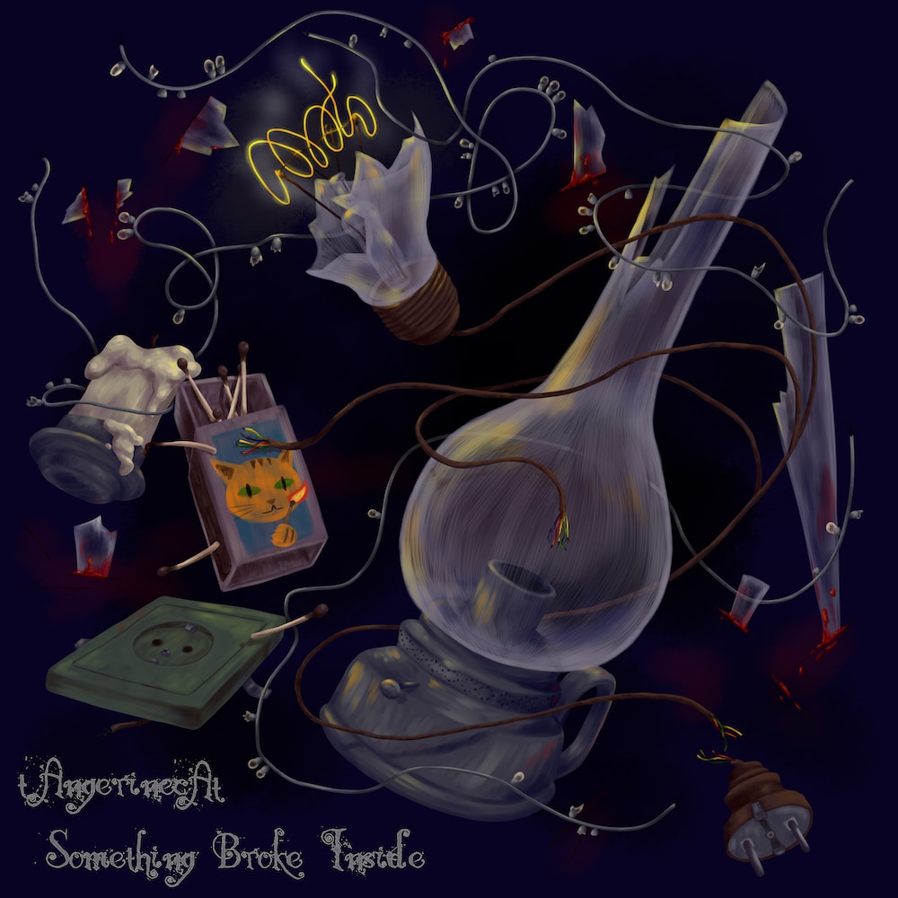tAngerinecAt artwork by Hagra