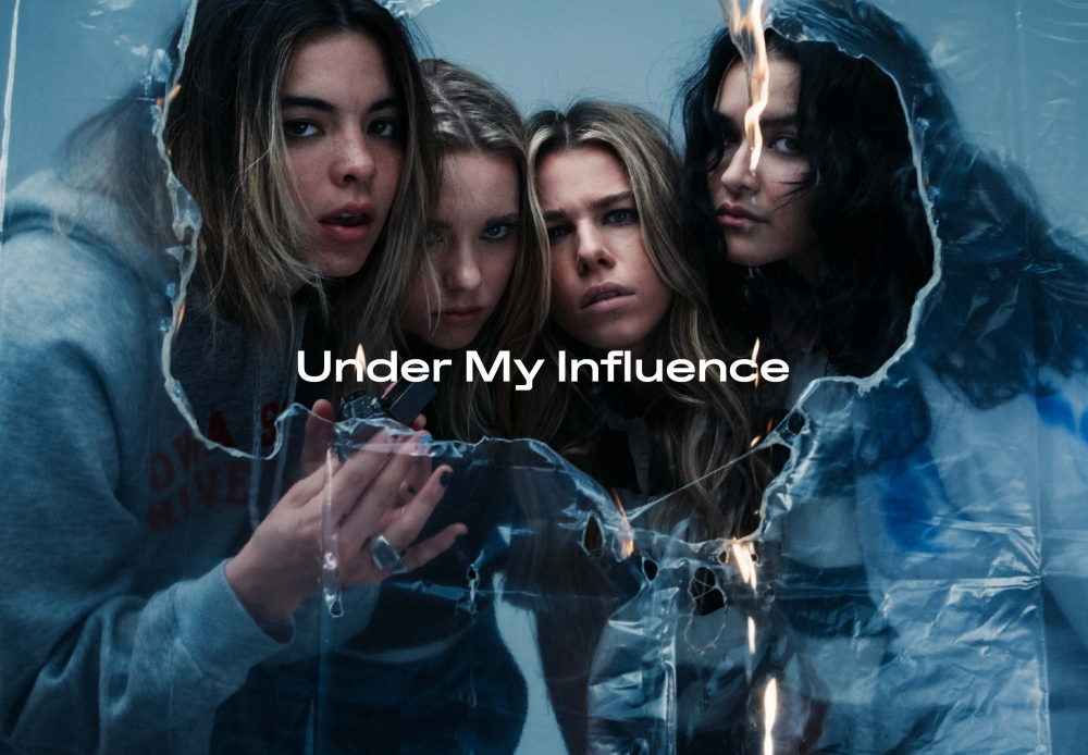 the aces under my influence artwork
