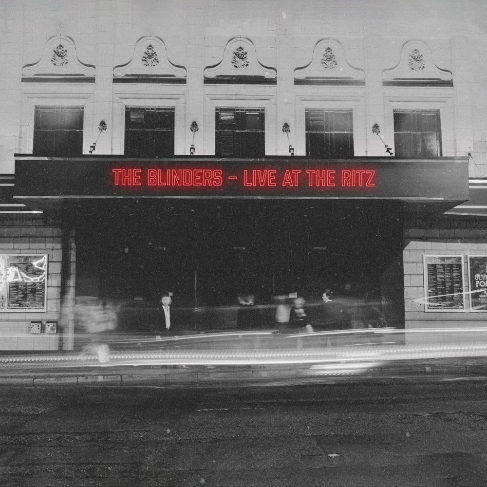 the blinders live at the ritz album artwork