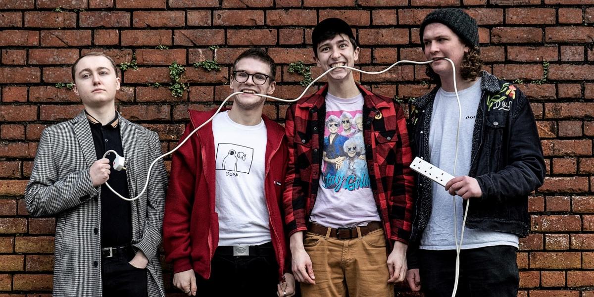 the new america band press shot