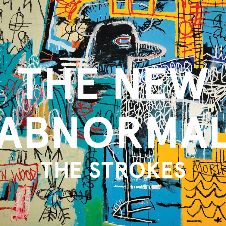 the strokes the new abnormal artwork